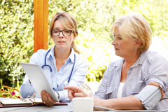 Home healthcare Stock Photography
