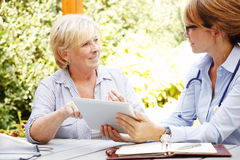 Home healthcare royalty free stock image
