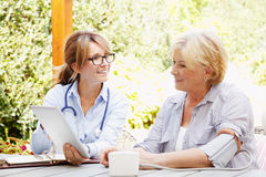 Home healthcare Stock Images