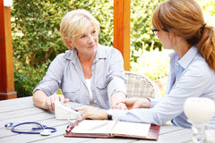 Home healthcare royalty free stock images