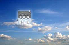 Home in the Heaven Royalty Free Stock Image