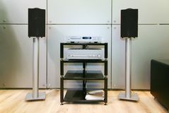Home hifi sound Stock Photos