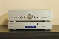 Home hifi system Stock Images