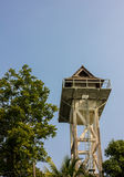 Home at high Tower Wood Royalty Free Stock Photography