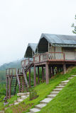 Home on hill in Khao Sok National Park, Thailand Stock Image
