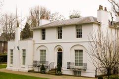 HOME histórica do poeta John Keats Fotografia de Stock Royalty Free