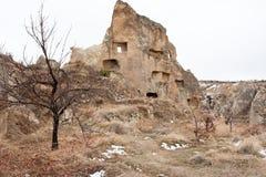 HOME hist?ricas dentro das cavernas Fotografia de Stock