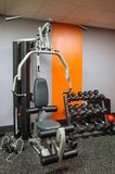 Home or Hotel Gym Equipment stock images