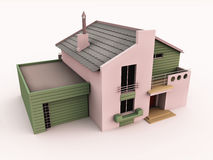 Home or house 3d Stock Image