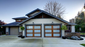 Home House Exterior royalty free stock photography