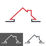 Home, House Icon, Logo Stock Images