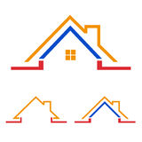 Home, house icon, logo Royalty Free Stock Photo