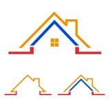 Home, house icon, logo. Home logo design isolated on white background Royalty Free Stock Photo