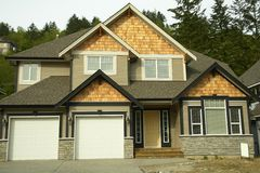 Home House New For Sale Royalty Free Stock Photo