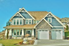 Home House Real Estate Royalty Free Stock Photography
