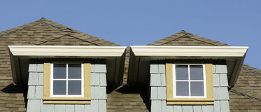 Home House Roof Detail Royalty Free Stock Photos