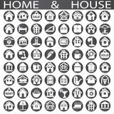 Home and house Royalty Free Stock Photography