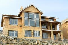 Home House Windows Framing Stock Image