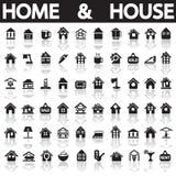 home hus Arkivbild
