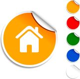 Home  icon. Royalty Free Stock Images
