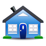 Home icon. Detailed illustrated simple home icon Stock Photos