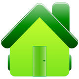 Home icon. Detailed illustrated simple home icon Royalty Free Stock Image