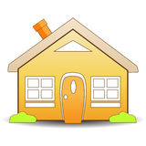 Home icon. Detailed illustrated simple home icon Stock Image