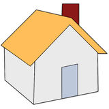Home icon. A draw of home icon Royalty Free Stock Image