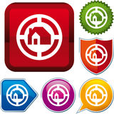 Home icon Stock Images