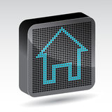 Home icon Royalty Free Stock Image