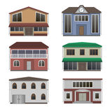 Home icon collection. Stock Photo