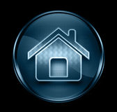 Home icon dark blue. Stock Photos
