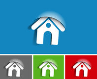 Home icon design Stock Photo
