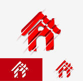 Home icon design Royalty Free Stock Photo