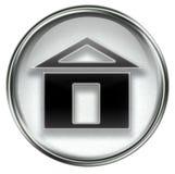 Home icon grey Stock Image