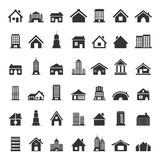 Home icon5 Royalty Free Stock Images