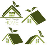 Home Icon Set Royalty Free Stock Photo