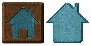 Home icon, tag royalty free stock photography
