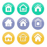 Home icon. Home vector icon great for any use Stock Photos