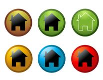 Home Icon vector illustration Royalty Free Stock Photography