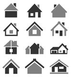 Home icon2 Royalty Free Stock Image