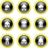 Home icons Stock Images