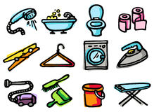 Home icons stock image
