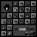 Home icons concepts Stock Photo