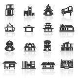 Home icons set 02 Stock Photo