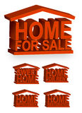 Home Icons / Vector. Home icons. Vector file also available Stock Image