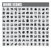 Home icons Stock Photo