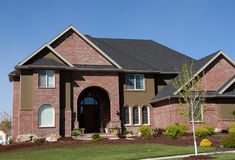 HOME ideal da família Fotografia de Stock Royalty Free