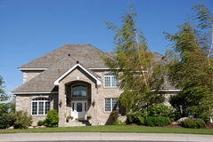 HOME ideal da família Imagens de Stock Royalty Free
