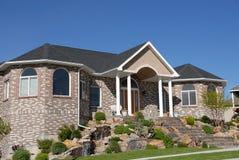 HOME ideal da família Imagem de Stock